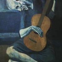 The Old Guitarist 200x200