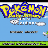 Pokemon Ruby Destiny Life of Guardians 200x200