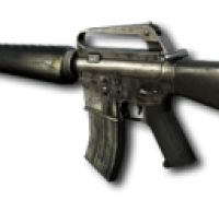 THE M16 (UNLOCKED AT RANK 1) 200x183