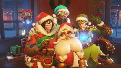 Best Overwatch Christmas Skins 400x225
