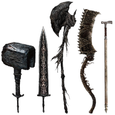 Best Bloodborne Weapons 400x400