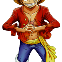 Monkey D. Luffy - One Piece 200x200